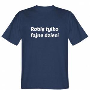 T-shirt I make only cool kids - PrintSalon