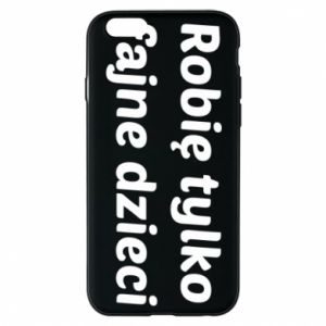 Phone case for iPhone 6/6S I make only cool kids - PrintSalon
