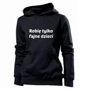 Women's hoodies I make only cool kids - PrintSalon