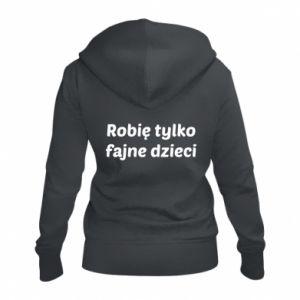 Women's zip up hoodies I make only cool kids - PrintSalon