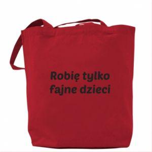 Bag I make only cool kids - PrintSalon