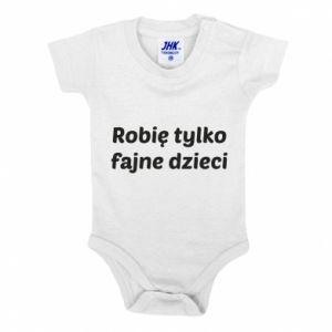 Baby bodysuit I make only cool kids - PrintSalon