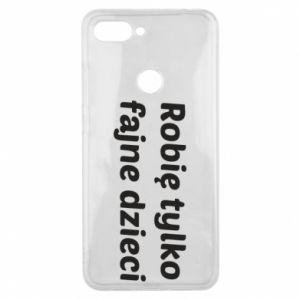 Phone case for Xiaomi Mi8 Lite I make only cool kids - PrintSalon