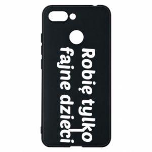 Phone case for Xiaomi Redmi 6 I make only cool kids - PrintSalon