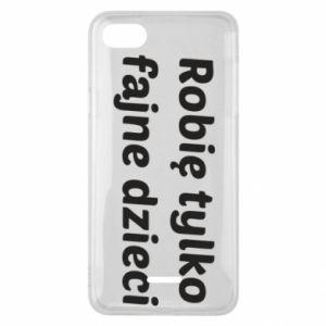 Phone case for Xiaomi Redmi 6A I make only cool kids - PrintSalon