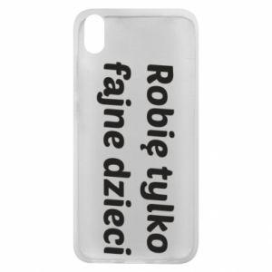 Phone case for Xiaomi Redmi 7A I make only cool kids - PrintSalon