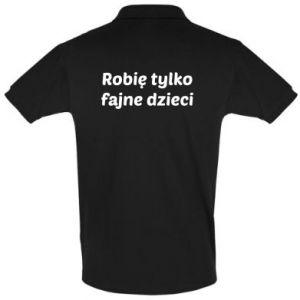 Men's Polo shirt I make only cool kids - PrintSalon