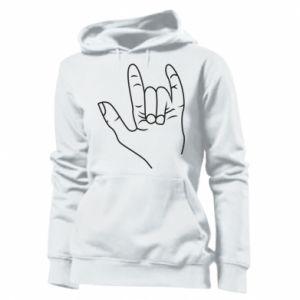 Damska bluza Rock greeting