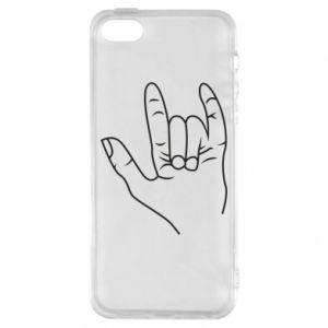 Etui na iPhone 5/5S/SE Rock greeting