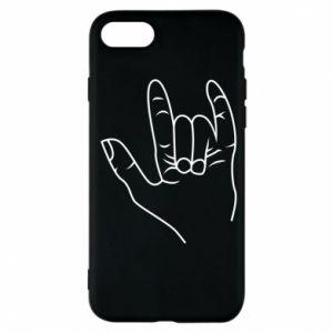 Etui na iPhone 7 Rock greeting