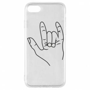 Etui na iPhone 8 Rock greeting
