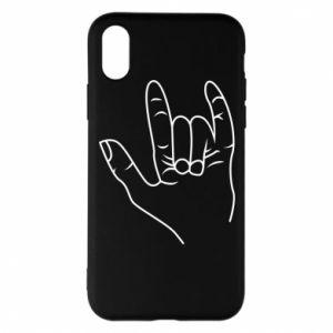 Etui na iPhone X/Xs Rock greeting