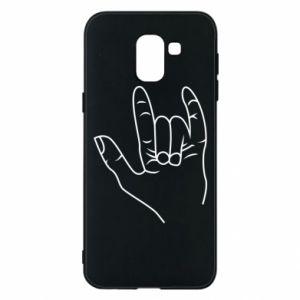Etui na Samsung J6 Rock greeting