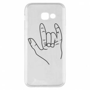 Etui na Samsung A5 2017 Rock greeting