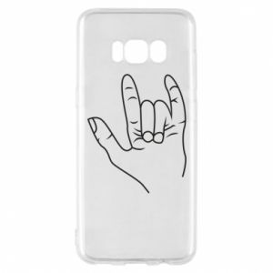 Etui na Samsung S8 Rock greeting