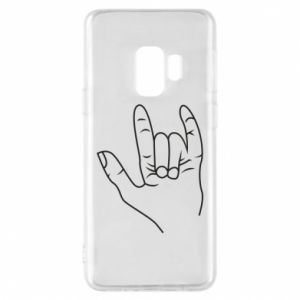 Etui na Samsung S9 Rock greeting