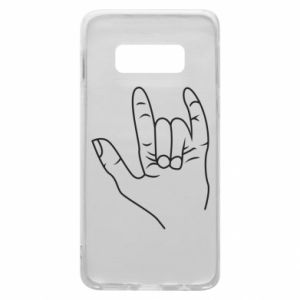 Etui na Samsung S10e Rock greeting