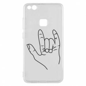 Etui na Huawei P10 Lite Rock greeting