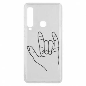 Etui na Samsung A9 2018 Rock greeting