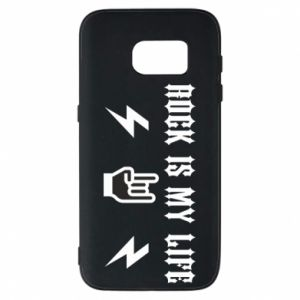 Etui na Samsung S7 Rock is my life