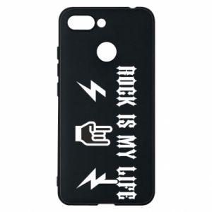 Etui na Xiaomi Redmi 6 Rock is my life