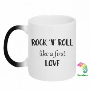 Kubek-kameleon Rock 'n' roll like a first love