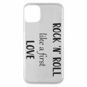 Etui na iPhone 11 Pro Rock 'n' roll like a first love