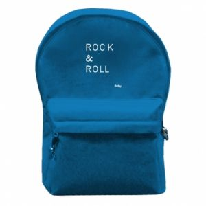 Backpack with front pocket Rock & Roll Baby