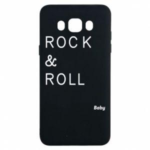 Etui na Samsung J7 2016 Rock & Roll Baby