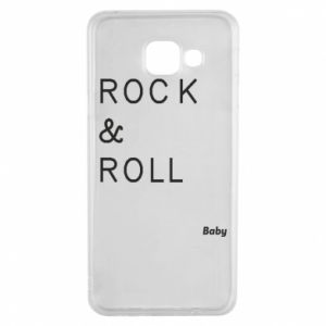 Etui na Samsung A3 2016 Rock & Roll Baby