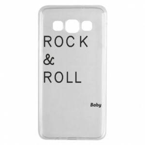 Etui na Samsung A3 2015 Rock & Roll Baby