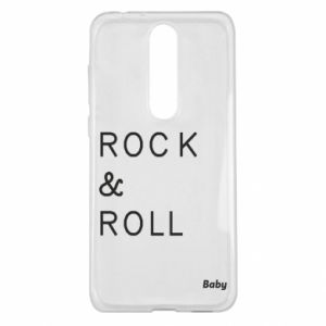 Etui na Nokia 5.1 Plus Rock & Roll Baby
