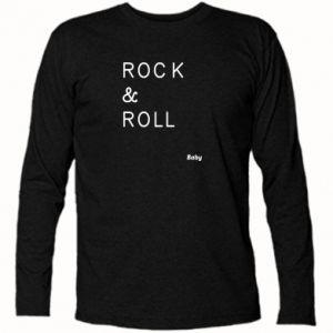 Koszulka z długim rękawem Rock & Roll Baby