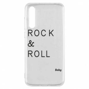 Etui na Huawei P20 Pro Rock & Roll Baby