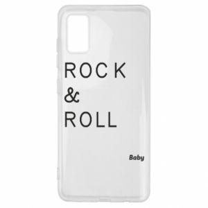 Etui na Samsung A41 Rock & Roll Baby