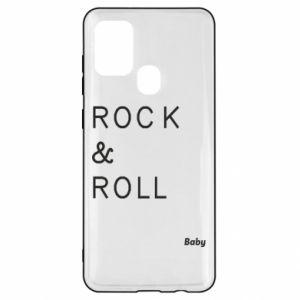 Etui na Samsung A21s Rock & Roll Baby