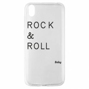 Etui na Huawei Y5 2019 Rock & Roll Baby