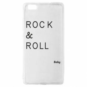 Etui na Huawei P 8 Lite Rock & Roll Baby