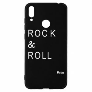 Etui na Huawei Y7 2019 Rock & Roll Baby