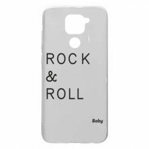 Etui na Xiaomi Redmi Note 9/Redmi 10X Rock & Roll Baby