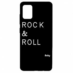 Etui na Samsung A51 Rock & Roll Baby