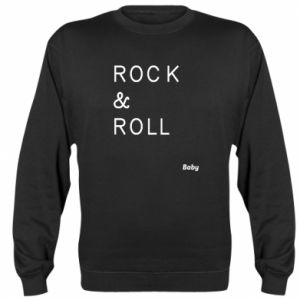 Sweatshirt Rock & Roll Baby