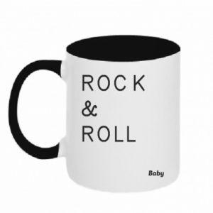 Kubek dwukolorowy Rock & Roll Baby