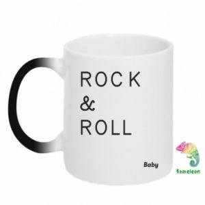 Kubek-kameleon Rock & Roll Baby
