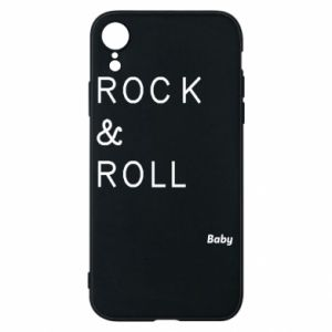 Phone case for iPhone XR Rock & Roll Baby