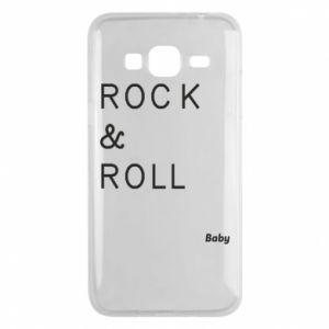 Phone case for Samsung J3 2016 Rock & Roll Baby