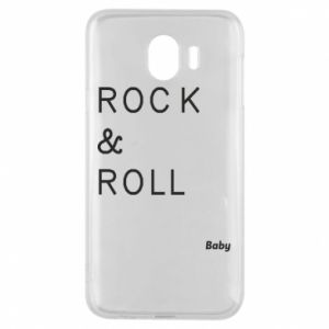 Phone case for Samsung J4 Rock & Roll Baby