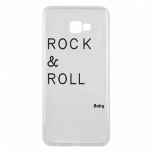 Phone case for Samsung J4 Plus 2018 Rock & Roll Baby