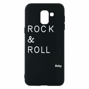 Phone case for Samsung J6 Rock & Roll Baby