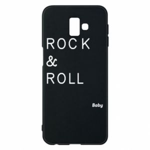 Phone case for Samsung J6 Plus 2018 Rock & Roll Baby